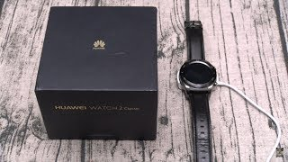 "Huawei Watch 2 ""Classic"" Unboxing And First Impressions"