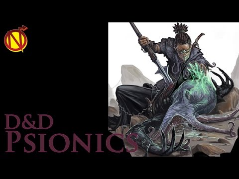 Speculation on Psionics and The Psychic Warrior for 5E| Dungeons and  Dragons 5th Edition Psionics