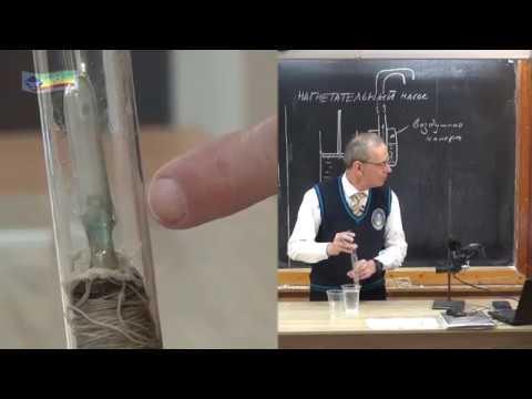 Урок 59 (осн). Жидкостный поршневой насос