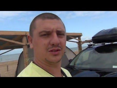 Поездка на машине к Чёрному и Азовскому морю 2015 видеоотчёт