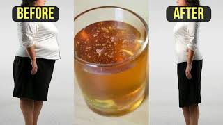 BEDTIME DRINK How To Lose Belly Fat Overnight Drink