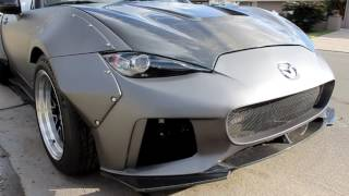 Widebody 2016 MX5 walk around - SEMA 2016 Show Car