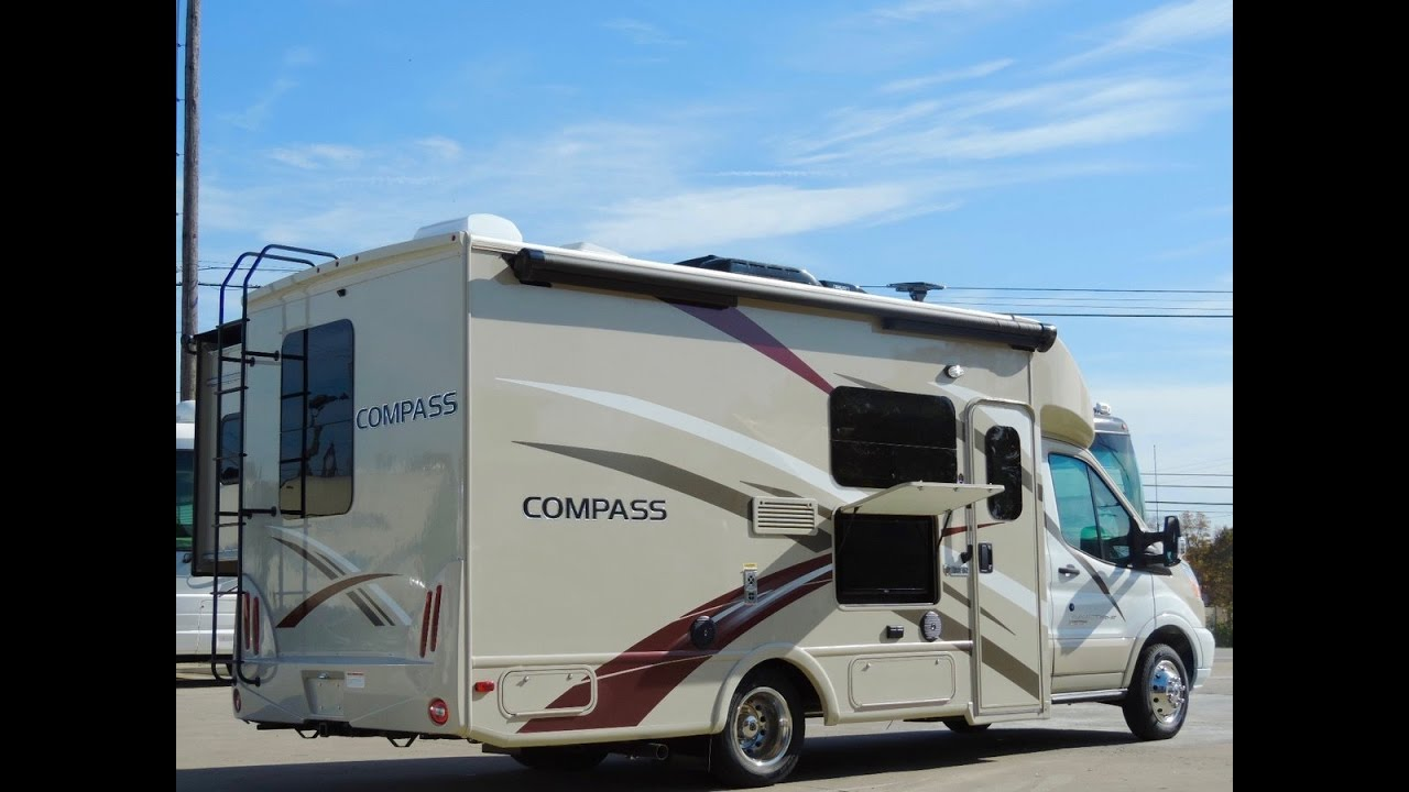 Ford Transit Rv >> 2017 Thor Motor Coach Compass 23TB - YouTube