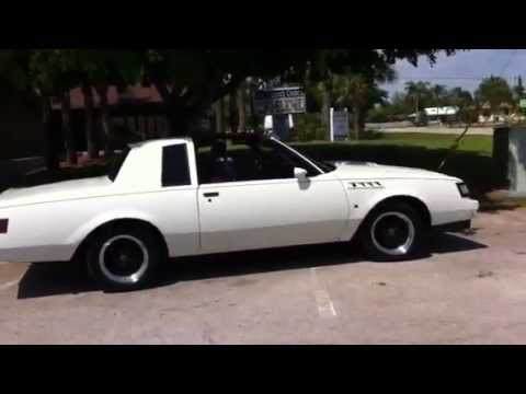 1987 Buick Regal Turbo T Type Grand National 3 8 Starting