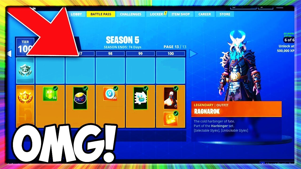 HOW TO GET FORTNITE SEASON 5 BATTLE PASS FOR FREE! (SEASON 5 BATTLE PASS GIVEAWAY)