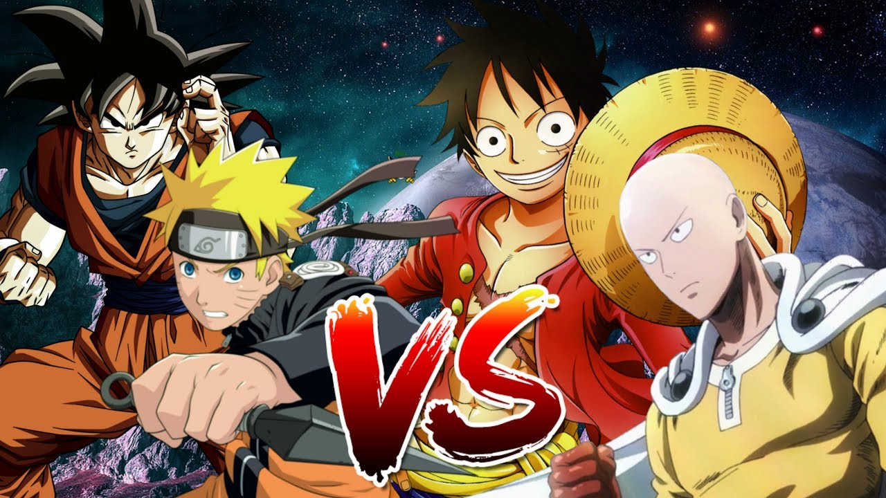 By blowing up the island they're fighting on, letting luffy tumble into the sea. Saitama Vs Goku Vs Luffy Vs Naruto Isu Ft Ykato Bth Games Y Sr Mecosst Prod Isu Rmx Youtube
