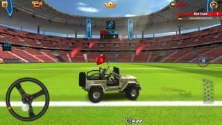 Rocket League or Dubai Drift - Scoring Goal for Goal - Jeep Monster Drift