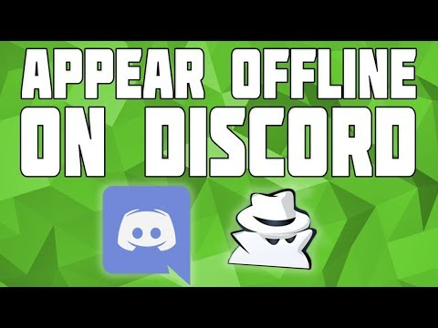 How to Appear offline on Discord! Be Invisible on Discord! - YouTube