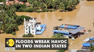 India: Floods batter Uttarakhand, orange alert in Kerala   WION   Latest News Updates