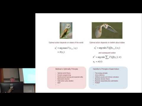 Karl Friston: Active inference and artificial curiosity