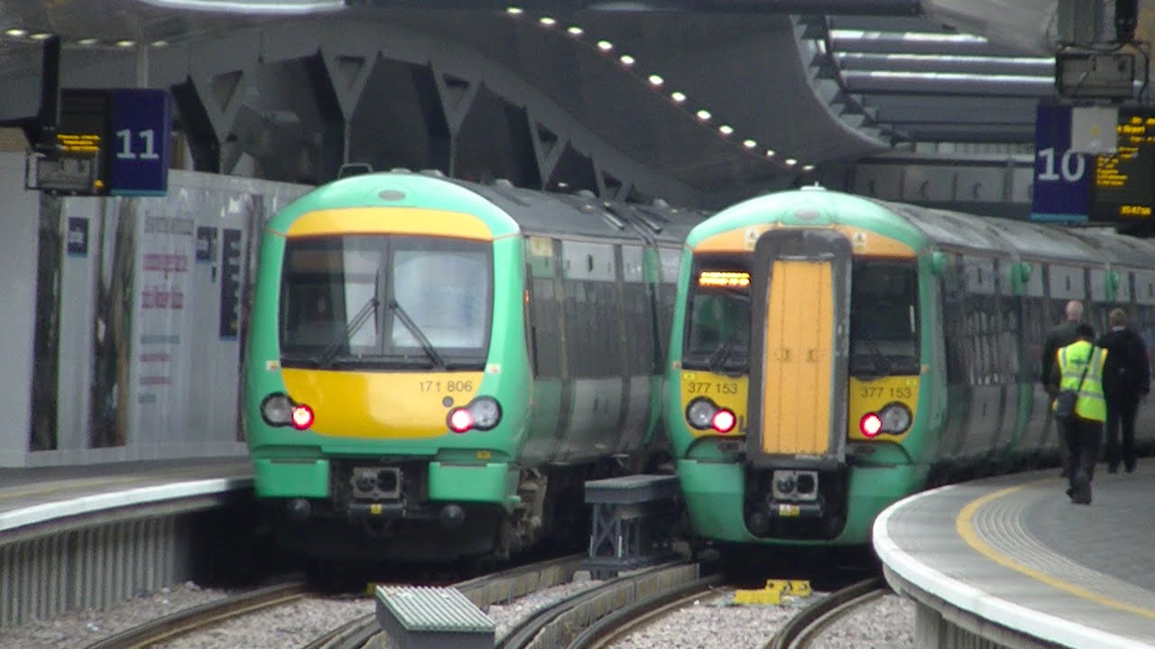 Train Lever In Lodon : Trains at london bridge youtube