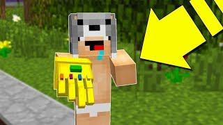 BEBEĞİM SONSUZLUK ELDİVENİNİ BULDU! 😱 - Minecraft