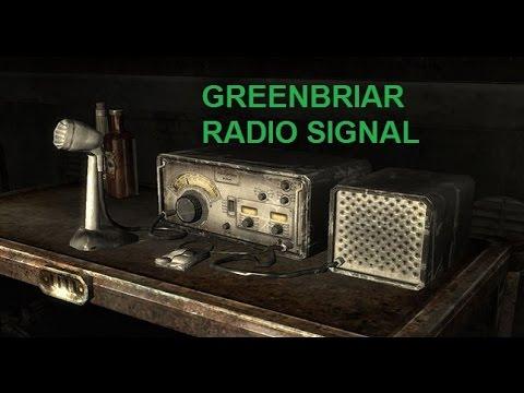 Fallout 4 : Greenbriar Radio Signal - Location