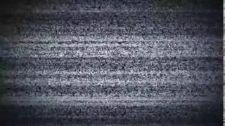 Футаж для переходов Помехи телевизора Шипение, шум, глитч