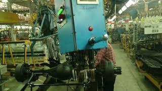 Цикл работы 4-х шпиндельной установки (ГАЗ - стремянки)
