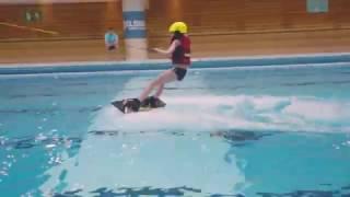 ELSIUM - Wakeboard on indoor swimming pool - Paris / Piscine Keller
