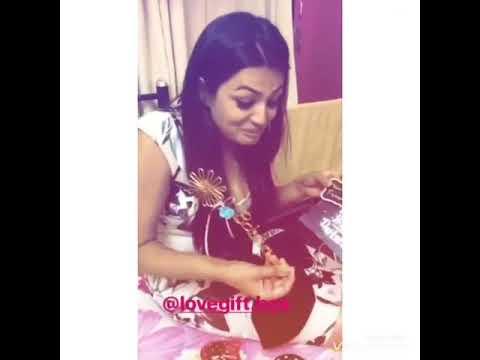 Samiksha Thankx All Fans Birthday gifts