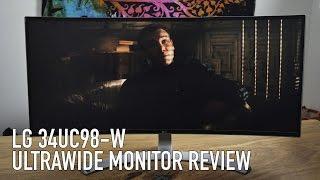 LG 34UC98-W Ultrawide Monitor Review   21:9 Epicness