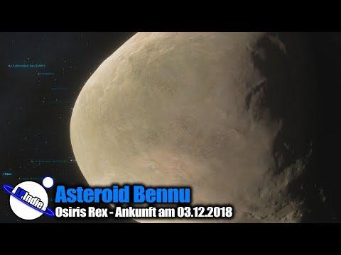 Asteroid Bennu - Raumsonde Osiris Rex - Ankunft 03.12.2018