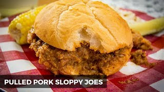 Pulled Pork Sloppy Joes | INSTANT POT RECIPE | The Starving Chef