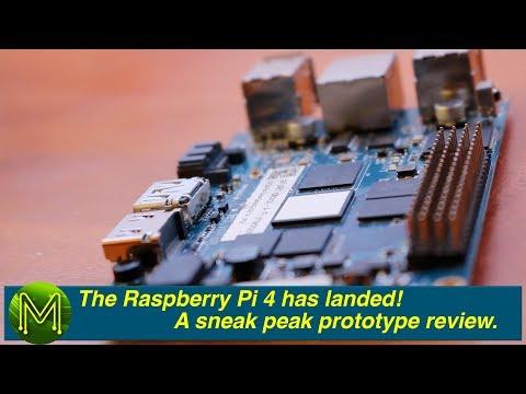 #262 (APRIL FOOLS 2019) - The Raspberry Pi 4 Has Landed! A Sneak Peak Prototype Review