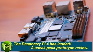 #262 The Raspberry Pi 4 has landed! A sneak peak prototype review - APRIL FOOLS 2019