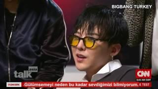 BIGBANG CNN Talk Asia Röportajı - Türkçe Altyazılı
