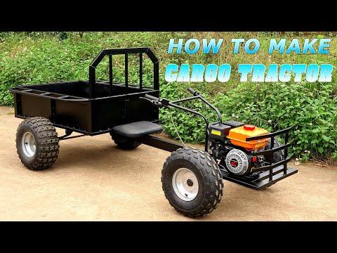 Build a Cargo Tractor 168cc 6.5HP