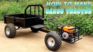 Build a Cargo Tractor 168cc 6.5HP