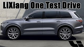 Test Driving The LiXiang One Hybrid SUV- 理想One试驾