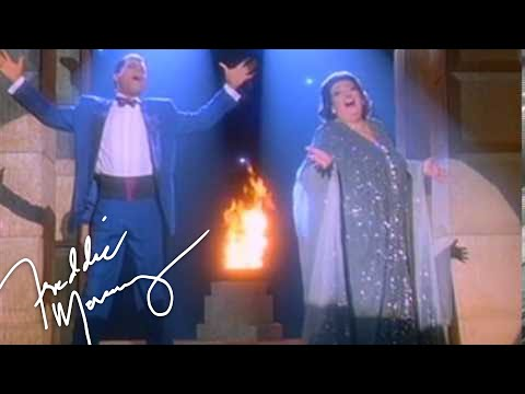 Freddie Mercury & Montserrat Caballé - Barcelona (Original David Mallet Video 1987 Remastered)