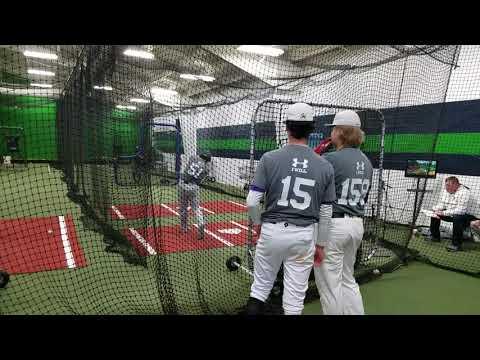 Liam Moreno Notredame Baseball Camp 11/11/2017