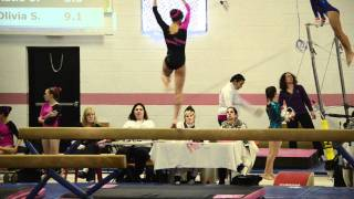 Jaylene Level 9 Dalmatian Classic 2012 Spirit Gymnastics