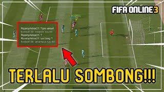 DIBACOTIN LAWAN, LIHAT APA YANG TERJADI! - FIFA ONLINE 3 INDONESIA
