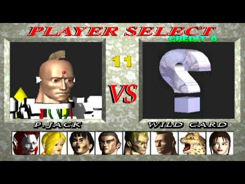 Tekken 1 [Arcade] - Play As P.Jack