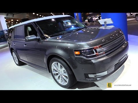 2016 Ford Flex Limited AWD - Exterior and Interior Walkaround - 2016 New York Auto Show