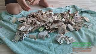 копилка.3-Литровая БАНКА!!!полная денег!