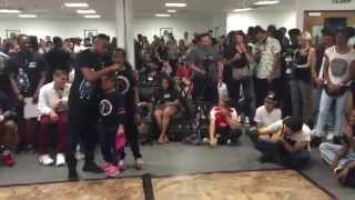 Last Man Standing Dance Battle featuring BGirl Eddie and BGirl Terra Dance Showcase