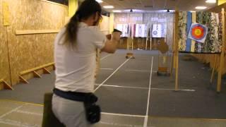 Тренировка IPSC ASG, стрельба в движении
