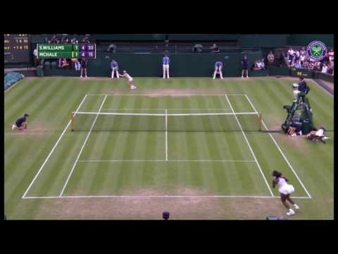Top 13 Plays: Christina McHale outlasts Serena Williams in 25-shot rally