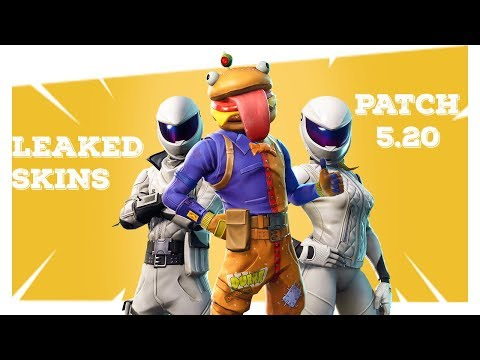 Fortnite Skins Patch 5.20 *NEW*