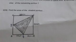 Class 7/Periodical Test ll/Mathematics/NCERT CBSE/previous year question paper