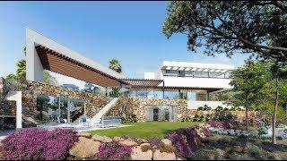 A vendre villa de luxe, golf de Las Colinas, piscine, sauna, jacuzzi, 4 chambres, 4 salles de bains,