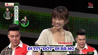 """Trường Giang """"cười bò"""" khi Dương Lâm đòi cho tiền Hari Won đi trị... ĐỚT"""