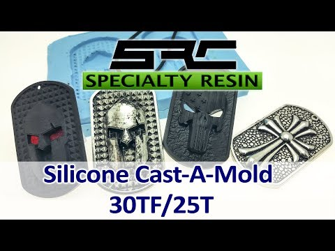 Silicone Tin catalyzed cast-a-mold 25T or 30T rubber mold making