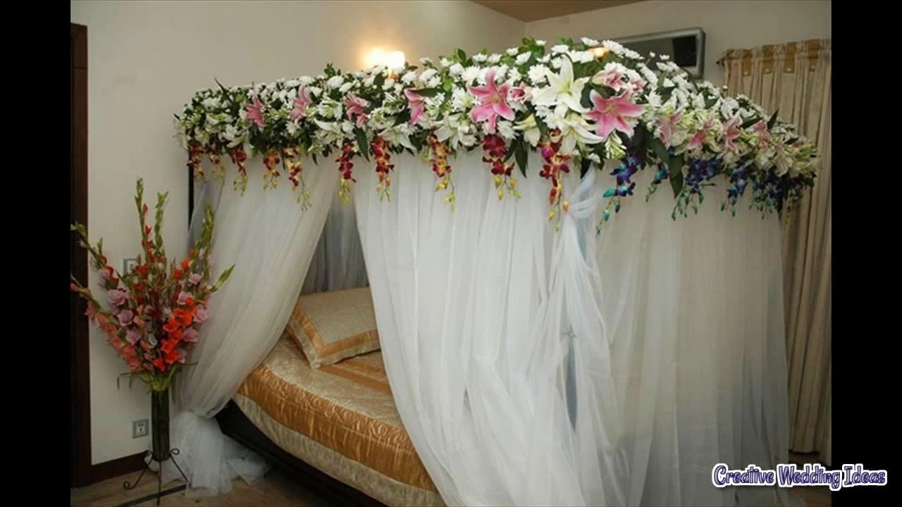 Wedding Night Bedroom Decoration Youtube