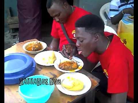 Funny Nigeria: man must wak!! (Nigerian Food)