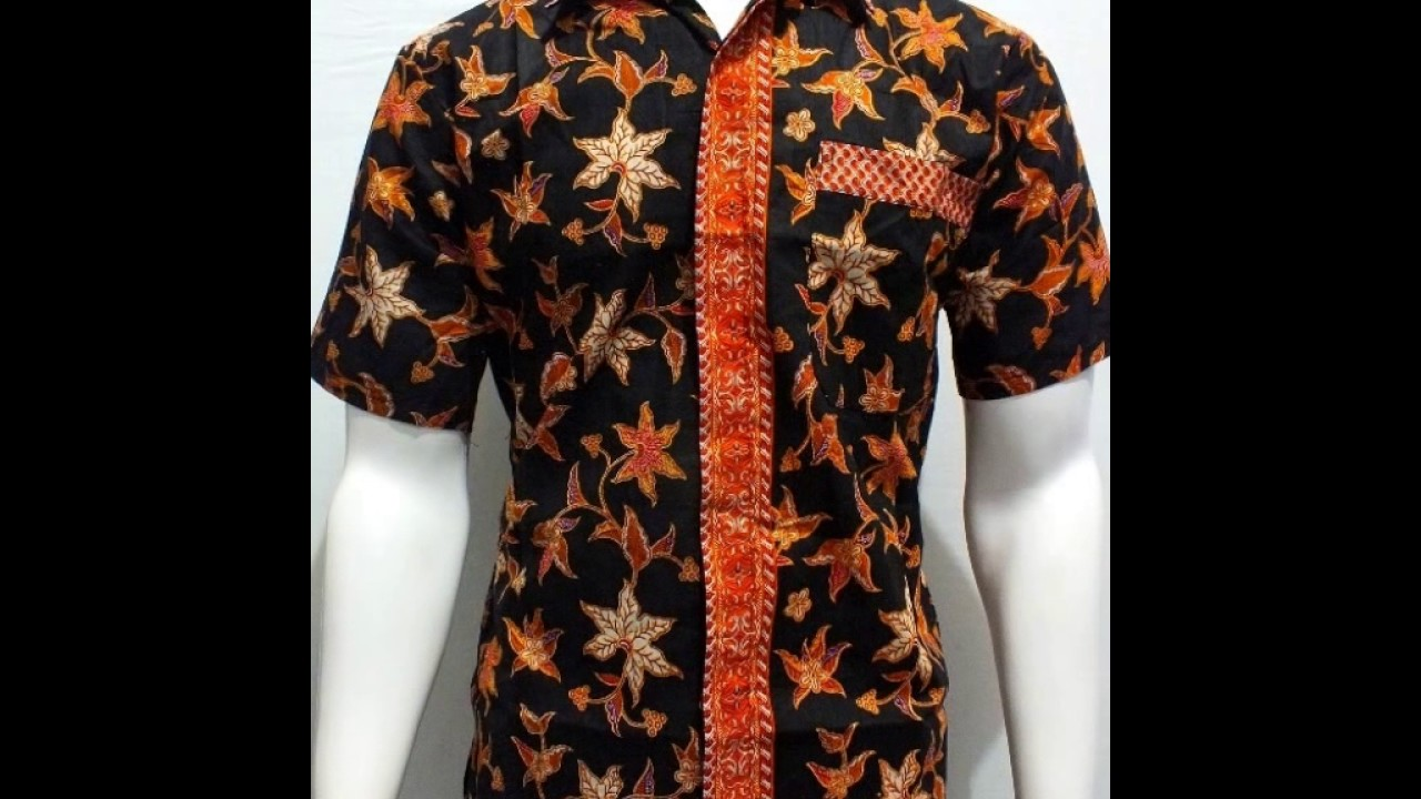 Model Baju Batik Atasan Buat Kerja Pria Wa 081330534158