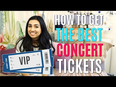 Hot To Get The Best Concert Tickets || Taylor Swift Ticket Buying Experience