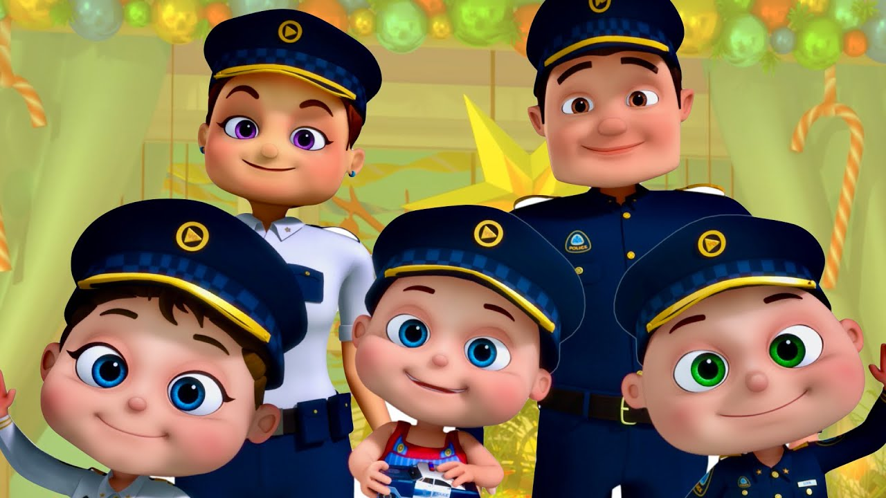 Police Finger Family & More Nursery Rhymes & Kids Songs | Baby Ronnie Rhymes | Zool Babies Fun Songs